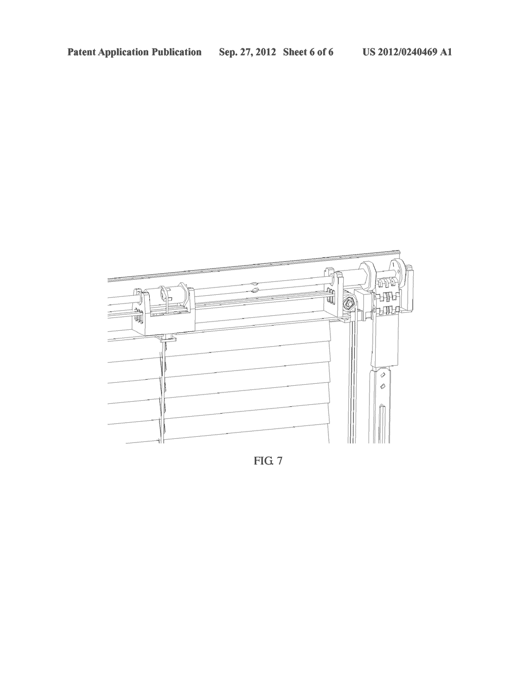 LOUVER TURNING MECHANISM AND HOLLOW GLASS DOORS OR WINDOWS WITH BUILT-IN     MAGNETICALLY CONTROLLABLE LOUVER - diagram, schematic, and image 07