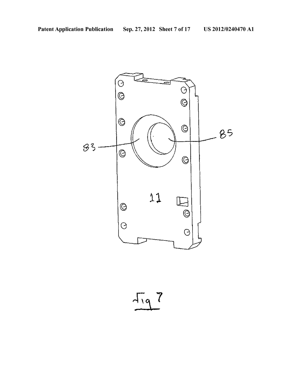 ELECTRONICALLY POWERED DOOR WITH A MANUAL OVERRIDE MECHANISM - diagram, schematic, and image 08