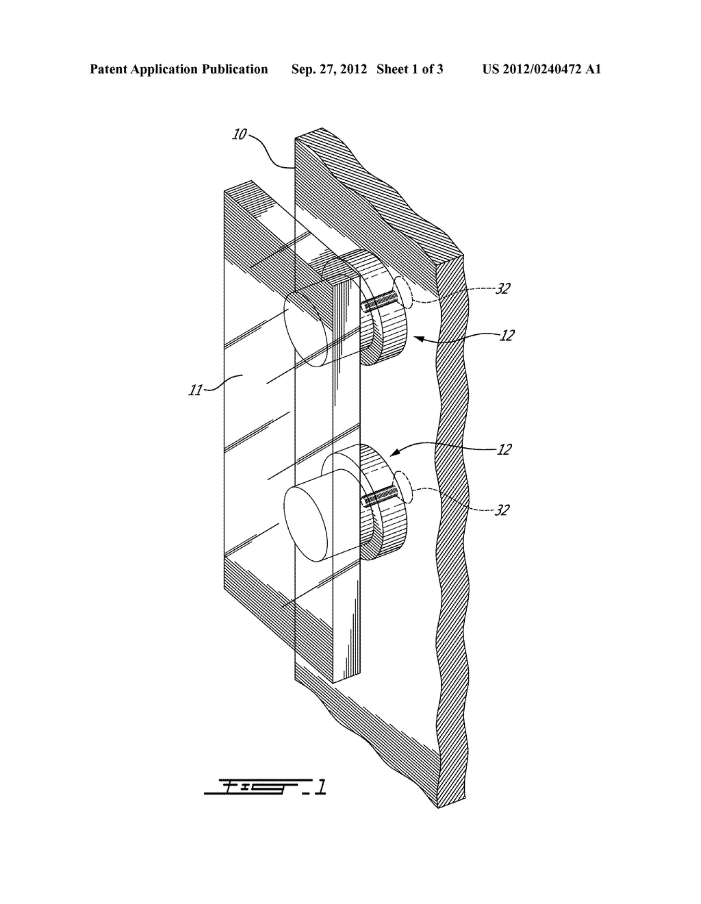 GLASS HANDLE CONNECTOR FOR GLASS DOOR HANDLE - diagram, schematic, and image 02