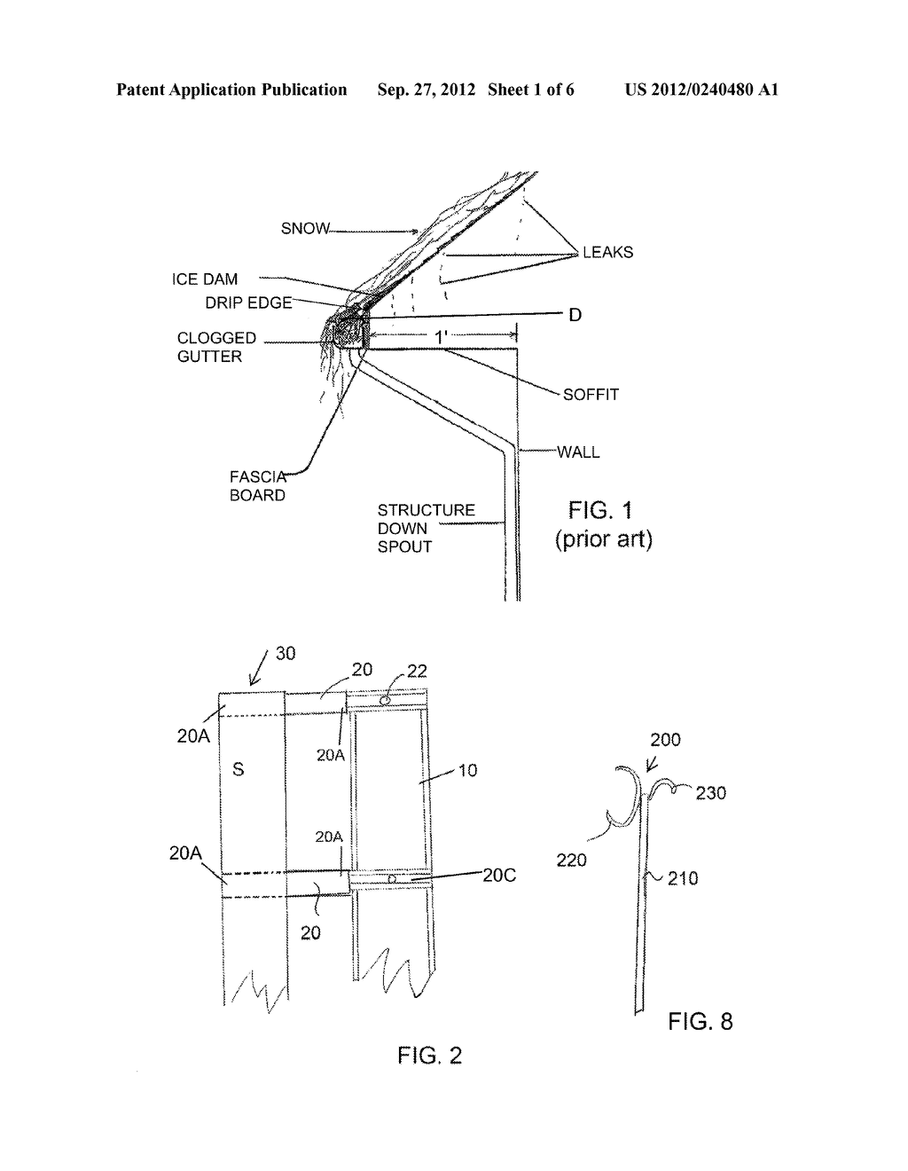 Retractable Gutter - diagram, schematic, and image 02