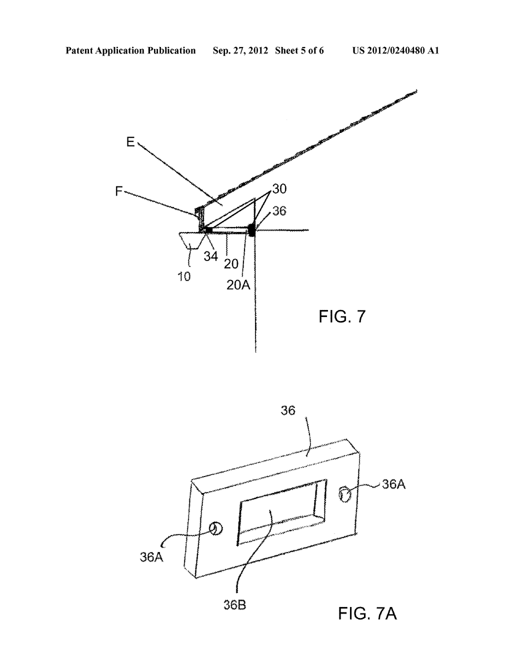 Retractable Gutter - diagram, schematic, and image 06