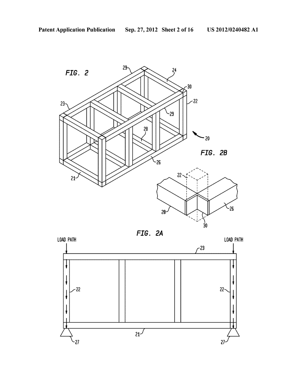 Components for a Modular High-Rise Structures And Method For Assembling     Same - diagram, schematic, and image 03