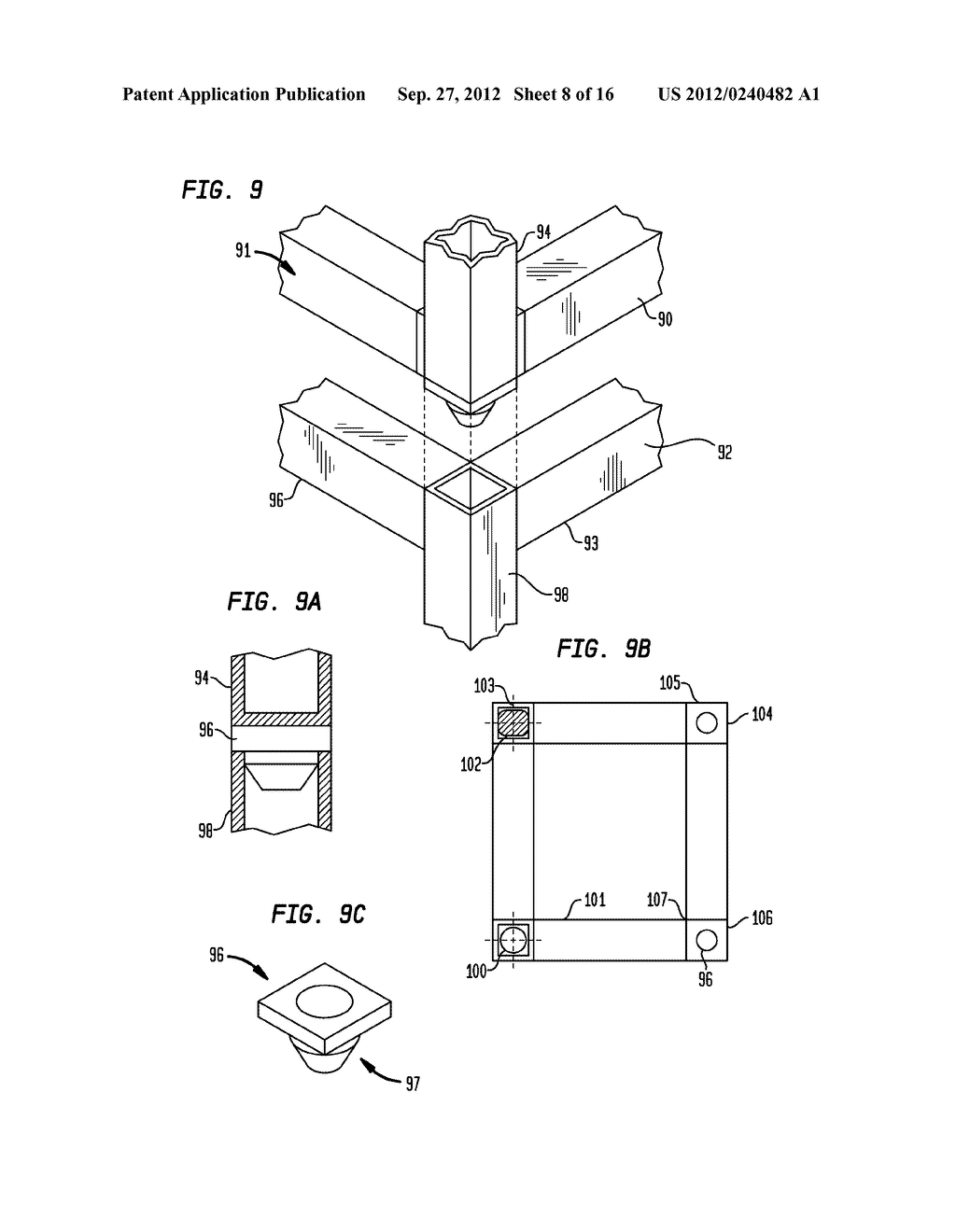 Components for a Modular High-Rise Structures And Method For Assembling     Same - diagram, schematic, and image 09