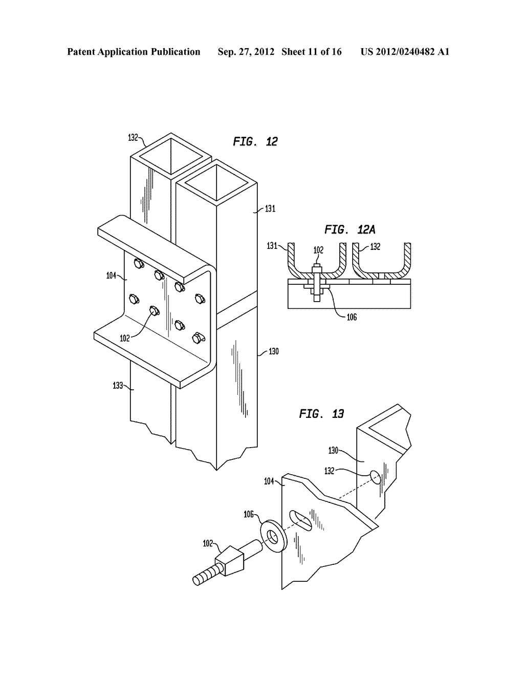 Components for a Modular High-Rise Structures And Method For Assembling     Same - diagram, schematic, and image 12