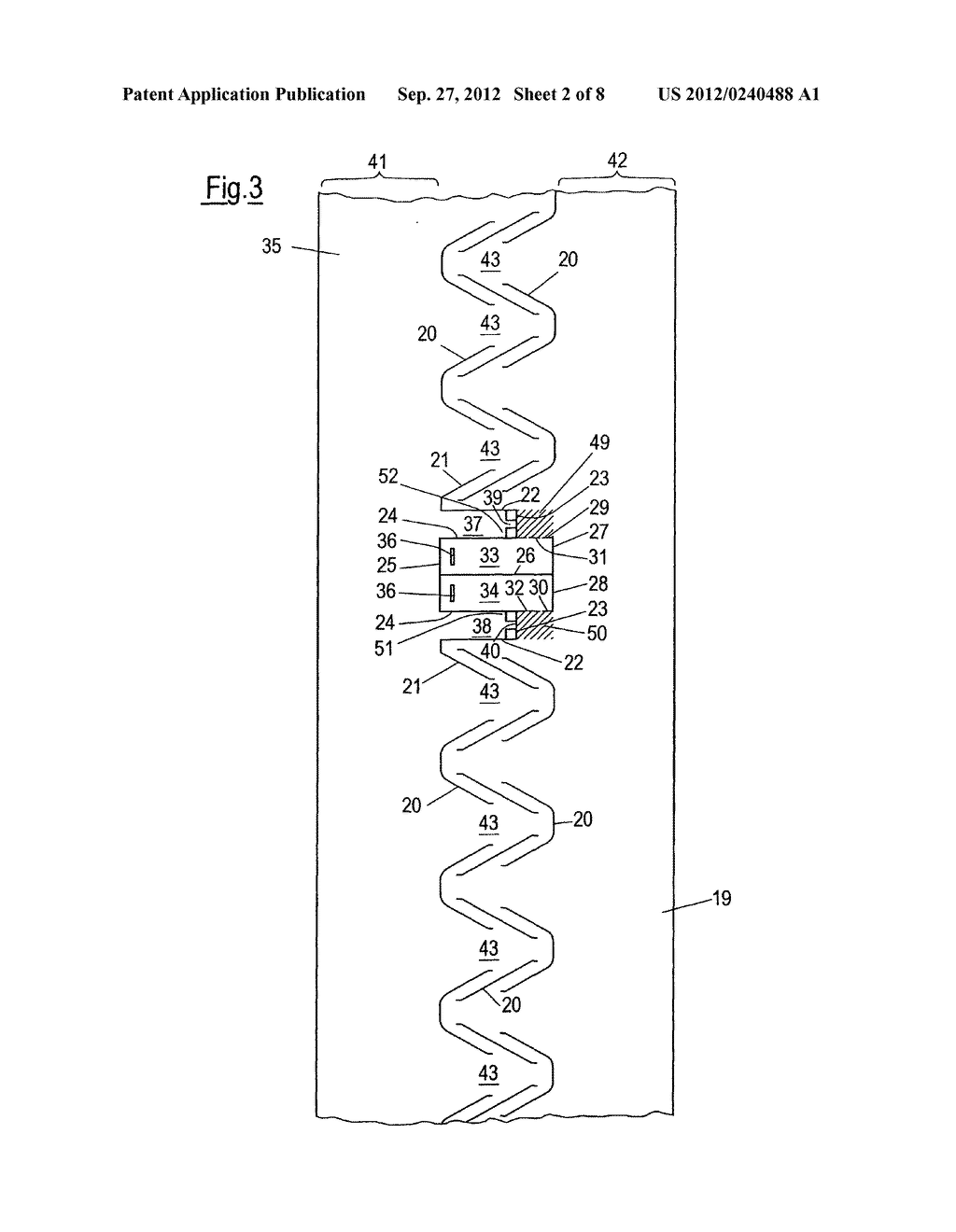 PROFILED ELEMENT AND METHOD FOR PRODUCING A PROFILED ELEMENT - diagram, schematic, and image 03