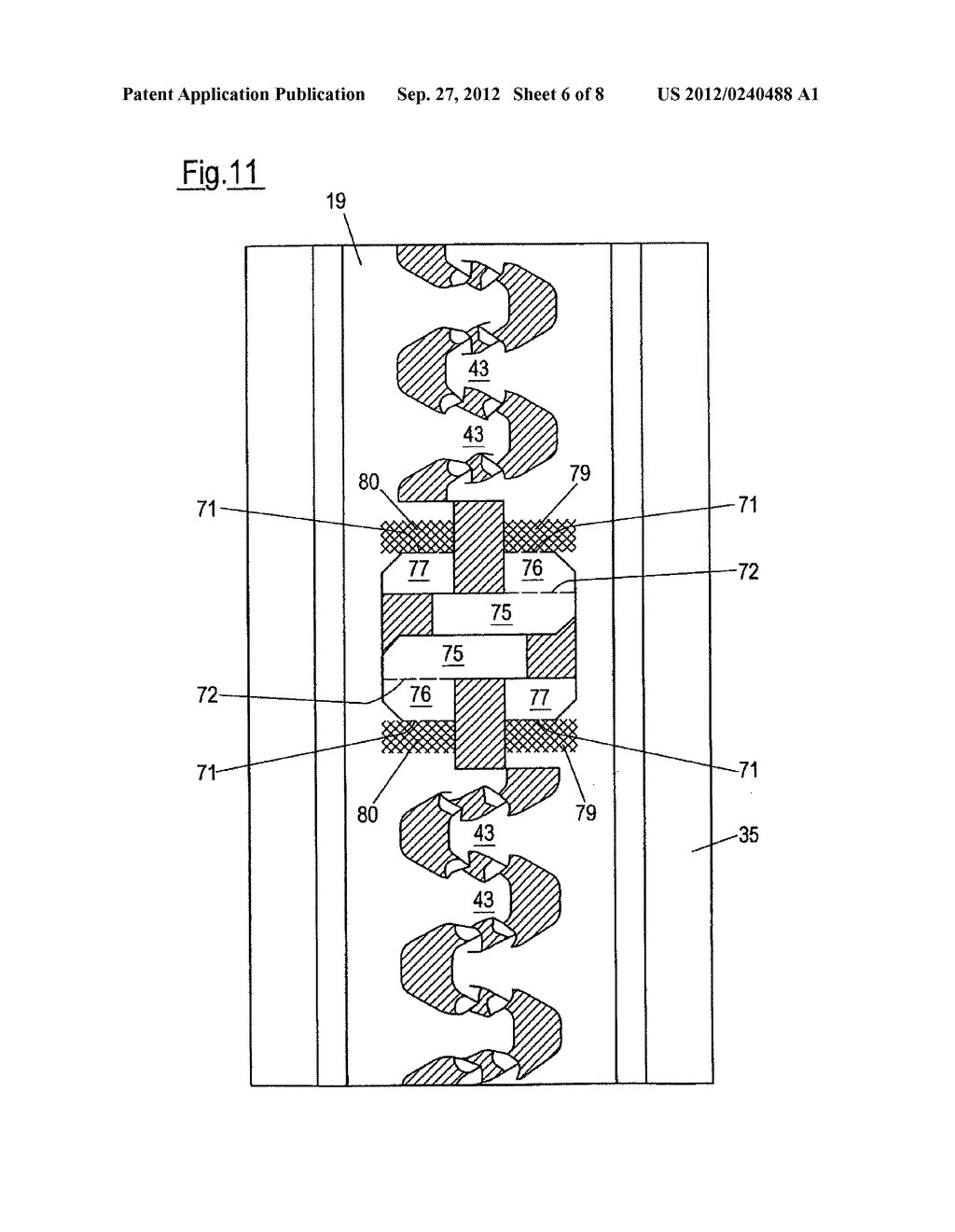 PROFILED ELEMENT AND METHOD FOR PRODUCING A PROFILED ELEMENT - diagram, schematic, and image 07