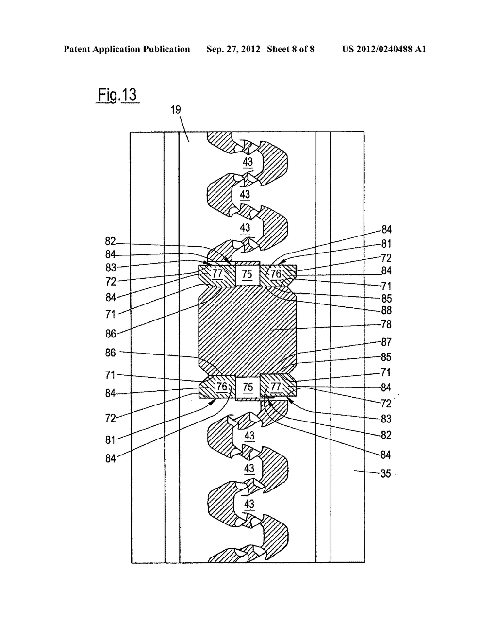 PROFILED ELEMENT AND METHOD FOR PRODUCING A PROFILED ELEMENT - diagram, schematic, and image 09