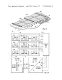 ROOF MOUNTED PHOTOVOLTAIC SYSTEM WITH ACCESSIBLE PANEL ELECTRONICS diagram and image