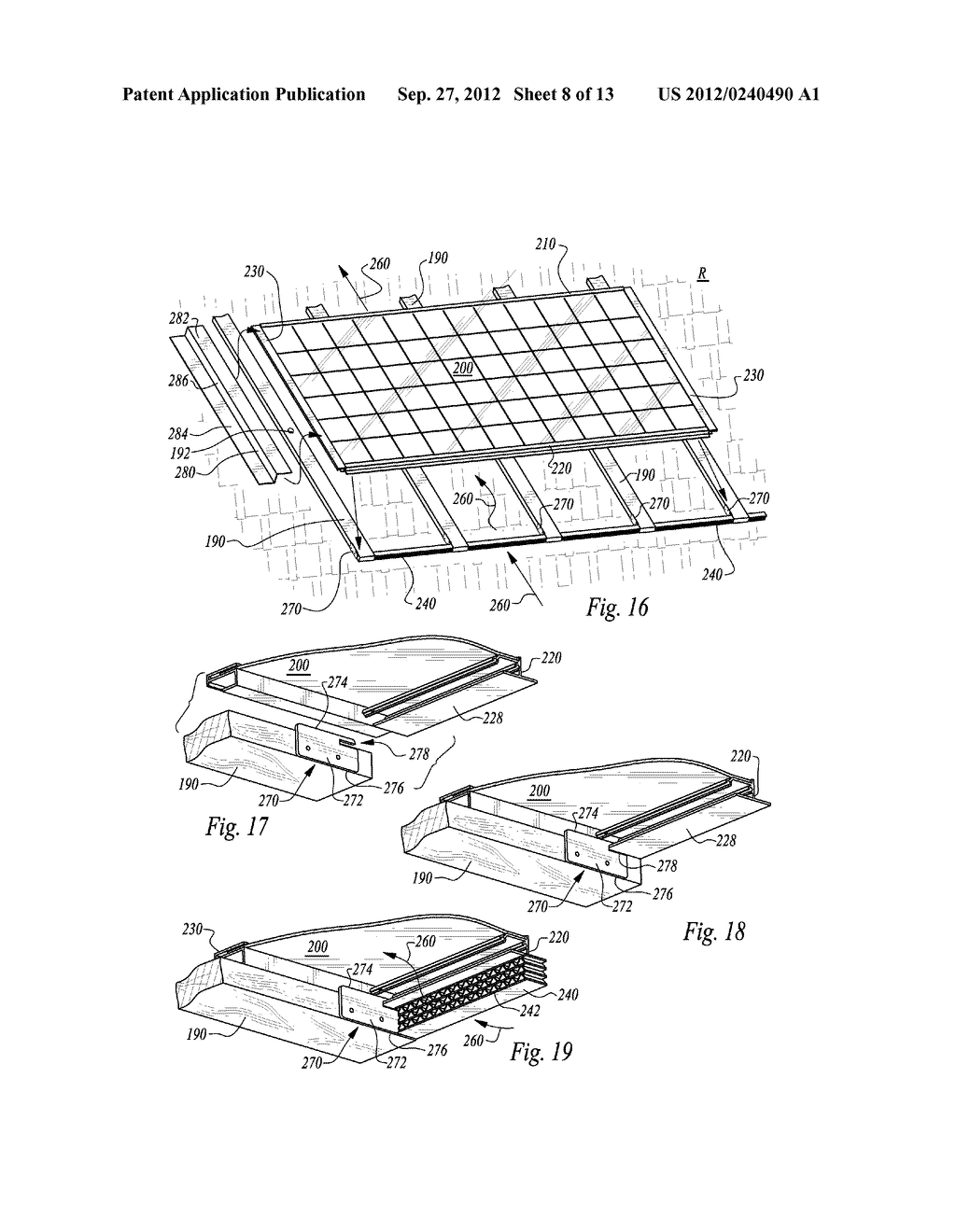 ROOF MOUNTED PHOTOVOLTAIC SYSTEM WITH ACCESSIBLE PANEL ELECTRONICS - diagram, schematic, and image 09
