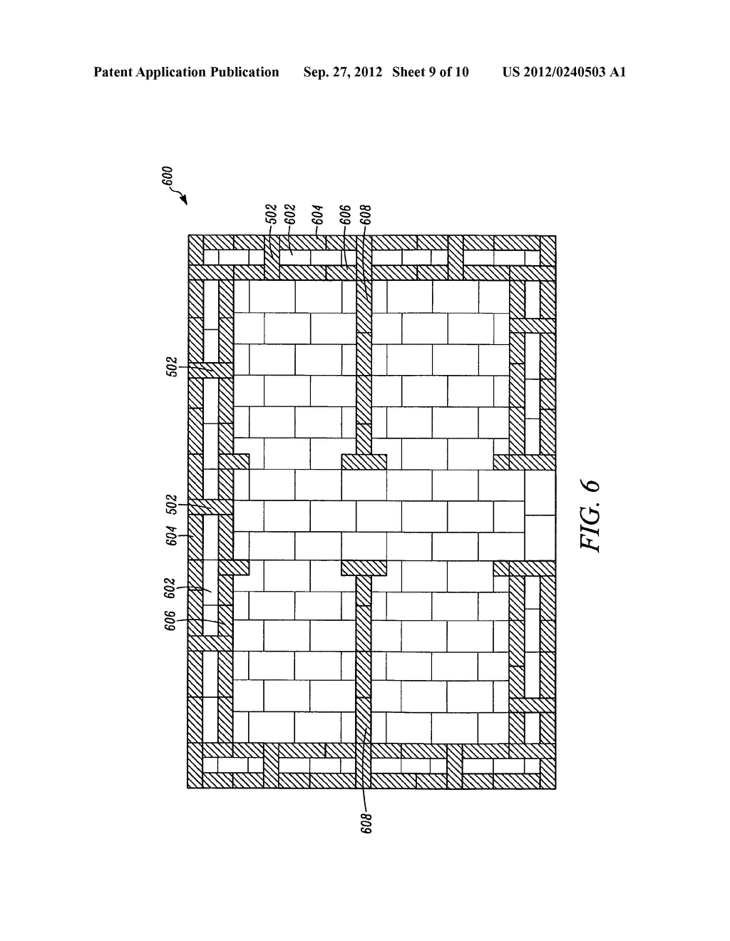System and method for building with compressed masonry blocks - diagram, schematic, and image 10