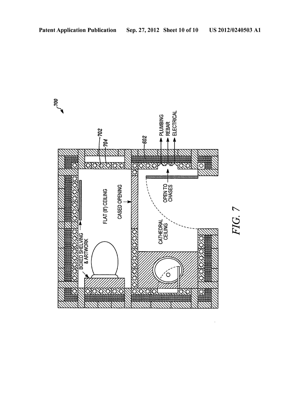 System and method for building with compressed masonry blocks - diagram, schematic, and image 11