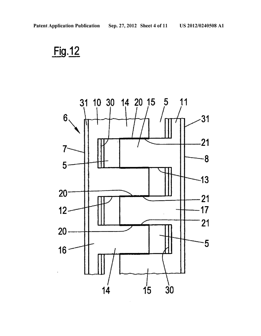 THIN-WALLED, COLD FORMED LIGHTWEIGHT STRUCTURAL PROFILE ELEMENT AND METHOD     FOR PRODUCING SUCH A PROFILE ELEMENT - diagram, schematic, and image 05