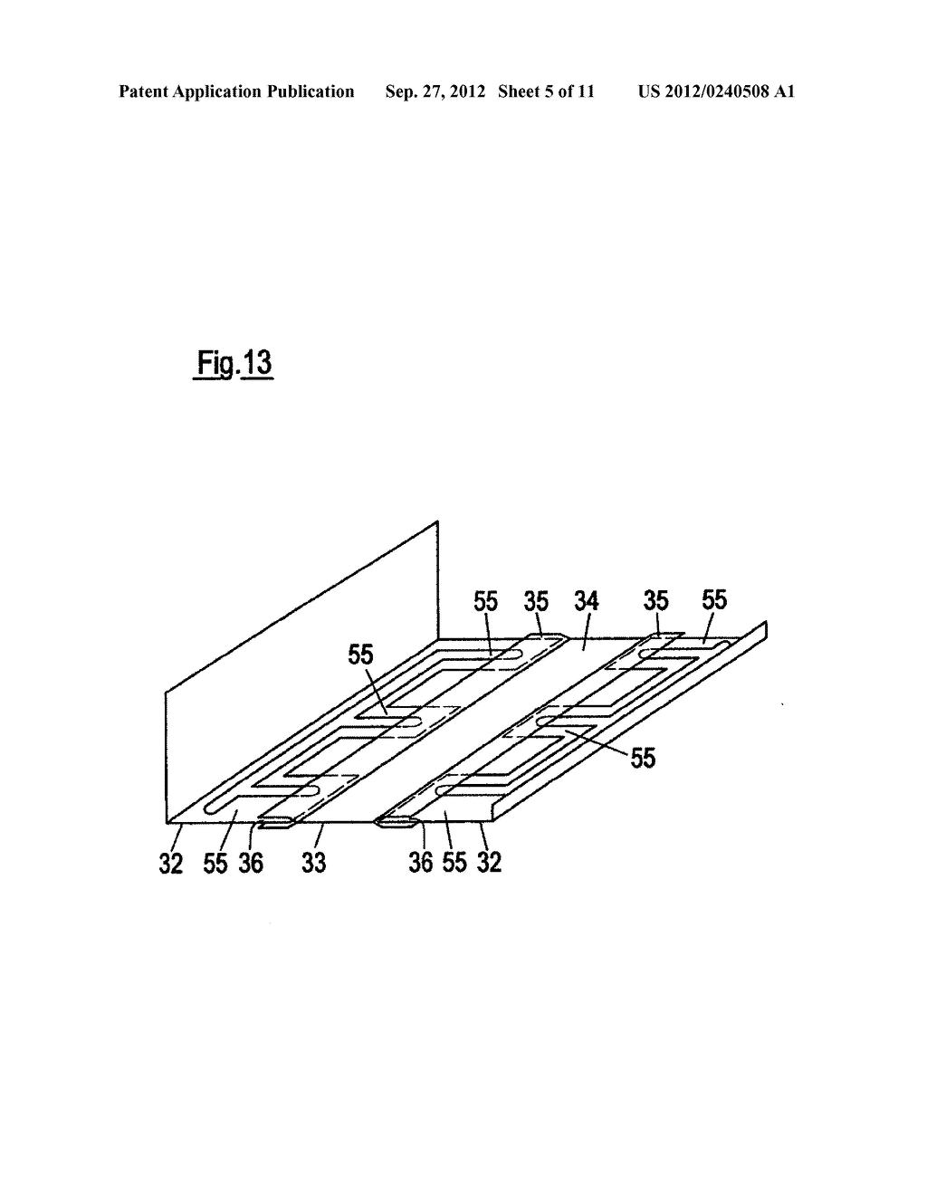 THIN-WALLED, COLD FORMED LIGHTWEIGHT STRUCTURAL PROFILE ELEMENT AND METHOD     FOR PRODUCING SUCH A PROFILE ELEMENT - diagram, schematic, and image 06