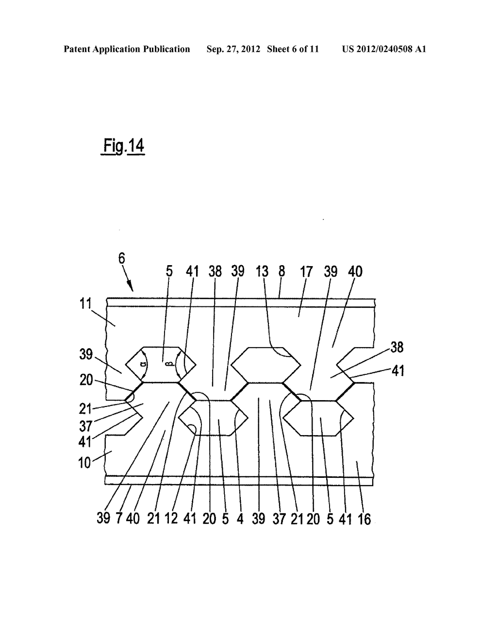 THIN-WALLED, COLD FORMED LIGHTWEIGHT STRUCTURAL PROFILE ELEMENT AND METHOD     FOR PRODUCING SUCH A PROFILE ELEMENT - diagram, schematic, and image 07