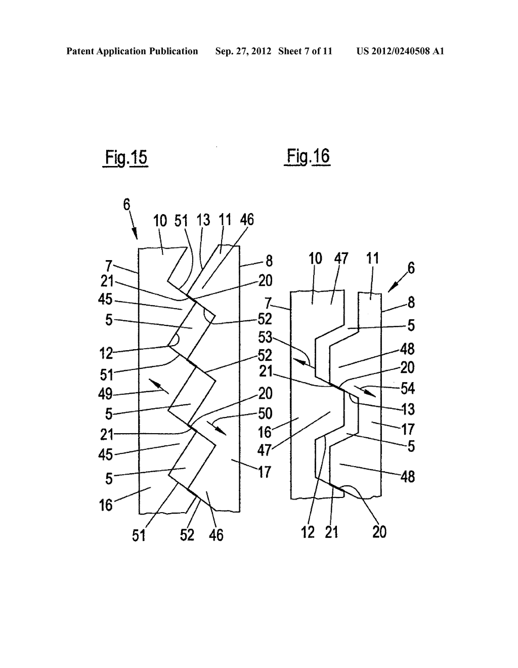 THIN-WALLED, COLD FORMED LIGHTWEIGHT STRUCTURAL PROFILE ELEMENT AND METHOD     FOR PRODUCING SUCH A PROFILE ELEMENT - diagram, schematic, and image 08