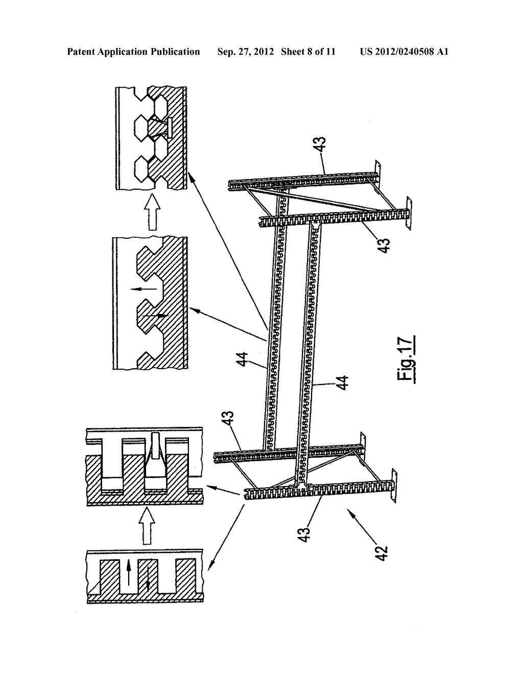THIN-WALLED, COLD FORMED LIGHTWEIGHT STRUCTURAL PROFILE ELEMENT AND METHOD     FOR PRODUCING SUCH A PROFILE ELEMENT - diagram, schematic, and image 09