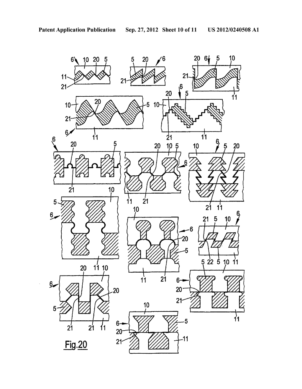 THIN-WALLED, COLD FORMED LIGHTWEIGHT STRUCTURAL PROFILE ELEMENT AND METHOD     FOR PRODUCING SUCH A PROFILE ELEMENT - diagram, schematic, and image 11