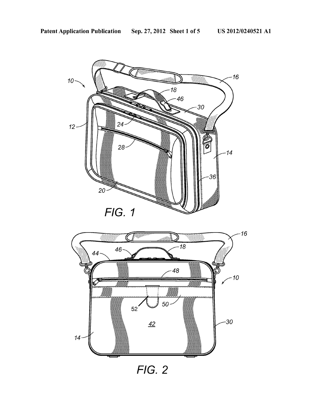 CARRYING CASE WITH REMOVABLE AND INTERCHANGEABLE INSERTS - diagram, schematic, and image 02