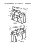 CARRYING CASE WITH REMOVABLE AND INTERCHANGEABLE INSERTS diagram and image