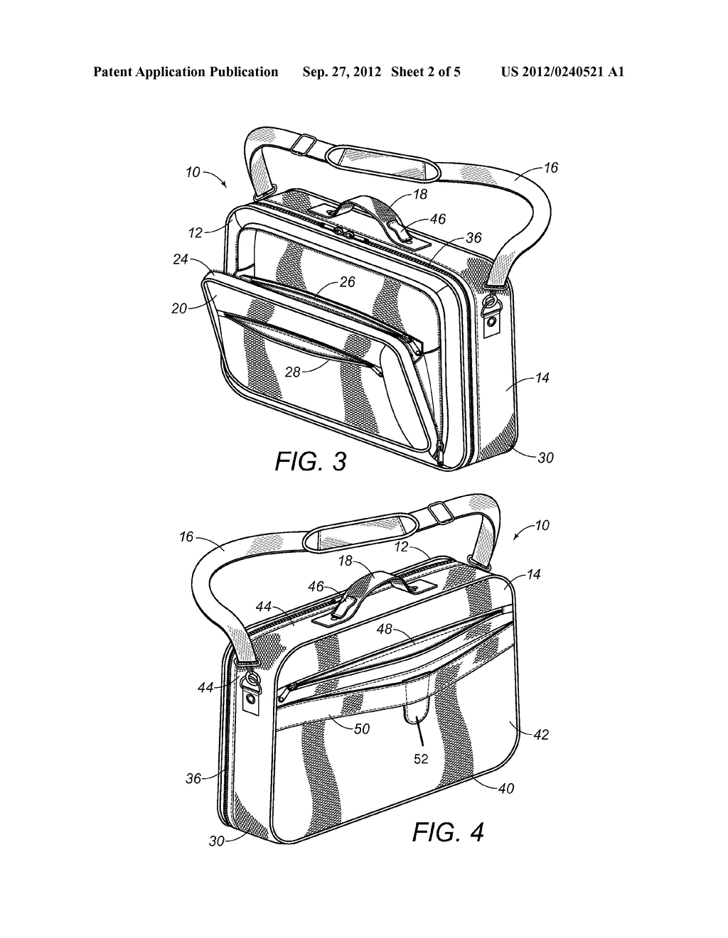 CARRYING CASE WITH REMOVABLE AND INTERCHANGEABLE INSERTS - diagram, schematic, and image 03