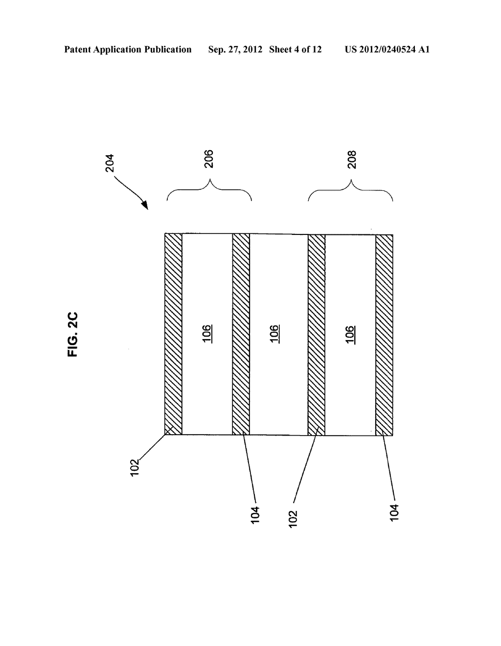 MULTI-LAYER INSULATION COMPOSITE MATERIAL INCLUDING BANDGAP MATERIAL,     STORAGE CONTAINER USING SAME, AND RELATED METHODS - diagram, schematic, and image 05