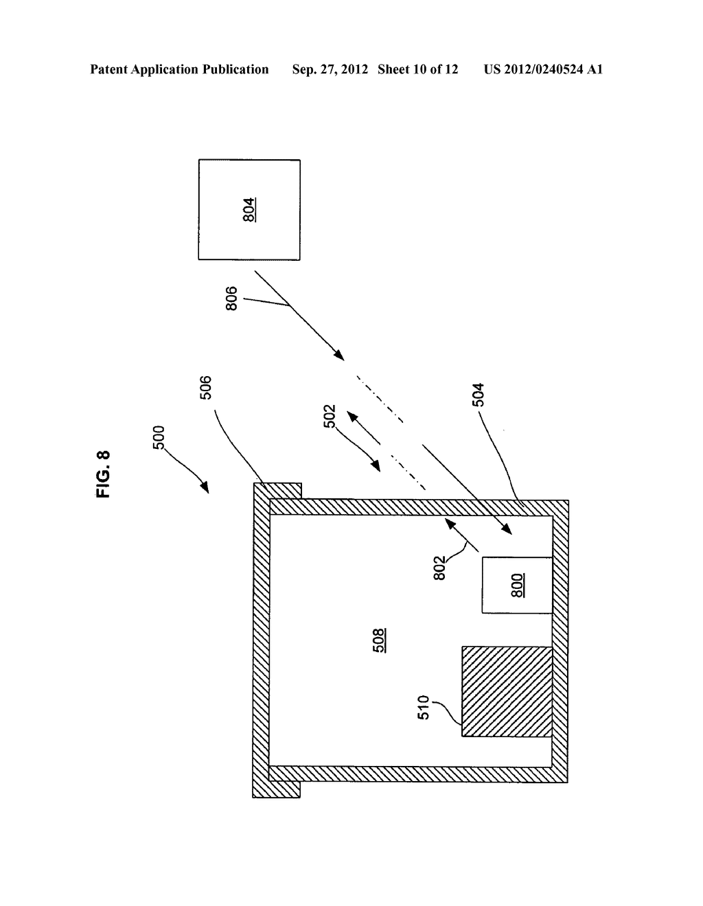 MULTI-LAYER INSULATION COMPOSITE MATERIAL INCLUDING BANDGAP MATERIAL,     STORAGE CONTAINER USING SAME, AND RELATED METHODS - diagram, schematic, and image 11