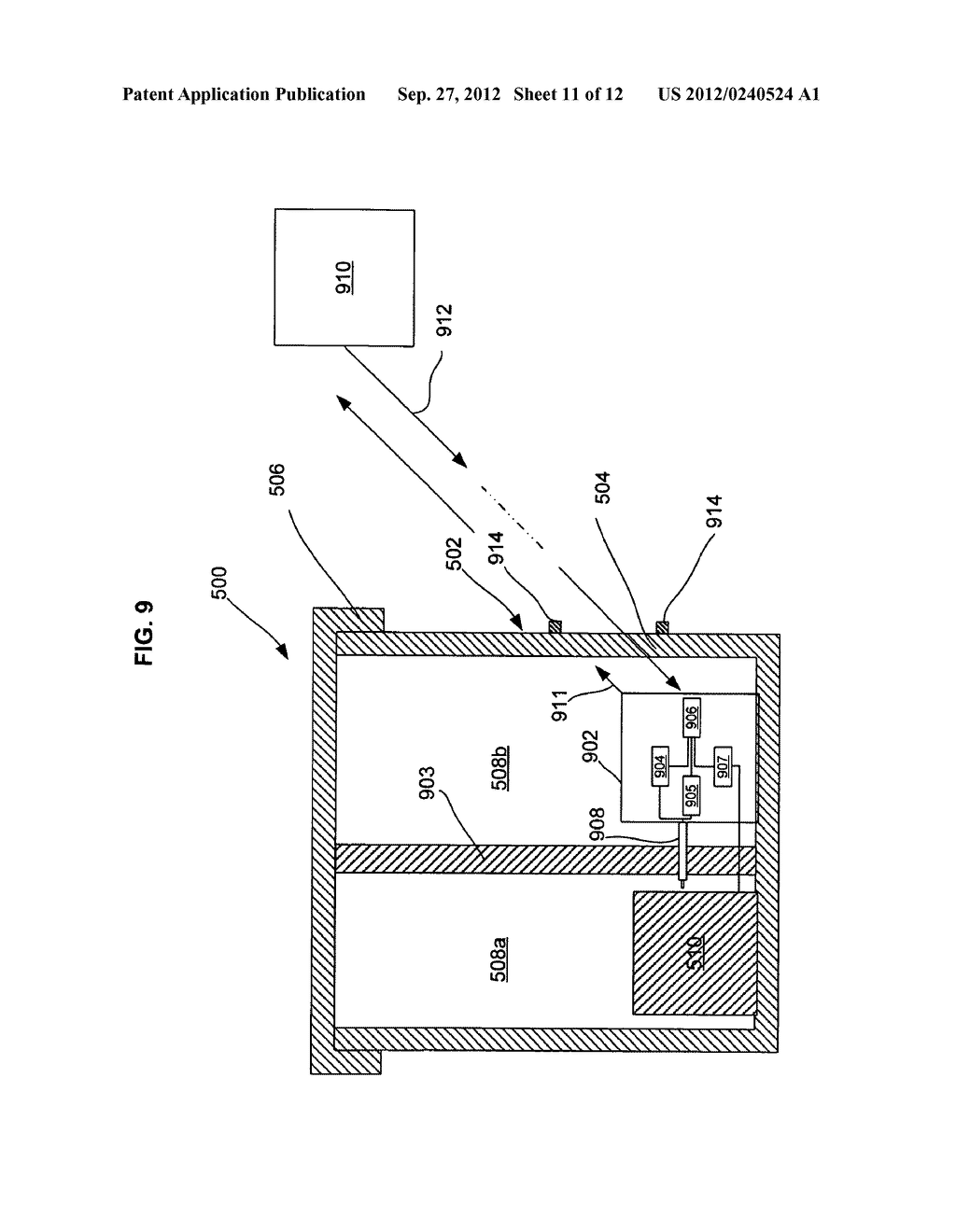 MULTI-LAYER INSULATION COMPOSITE MATERIAL INCLUDING BANDGAP MATERIAL,     STORAGE CONTAINER USING SAME, AND RELATED METHODS - diagram, schematic, and image 12