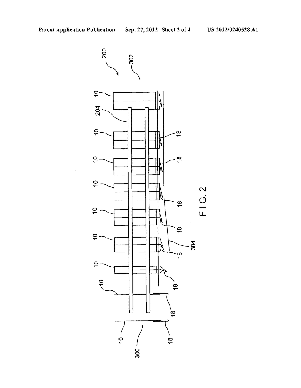 FORMING CONVEYOR FOR A CARTON - diagram, schematic, and image 03