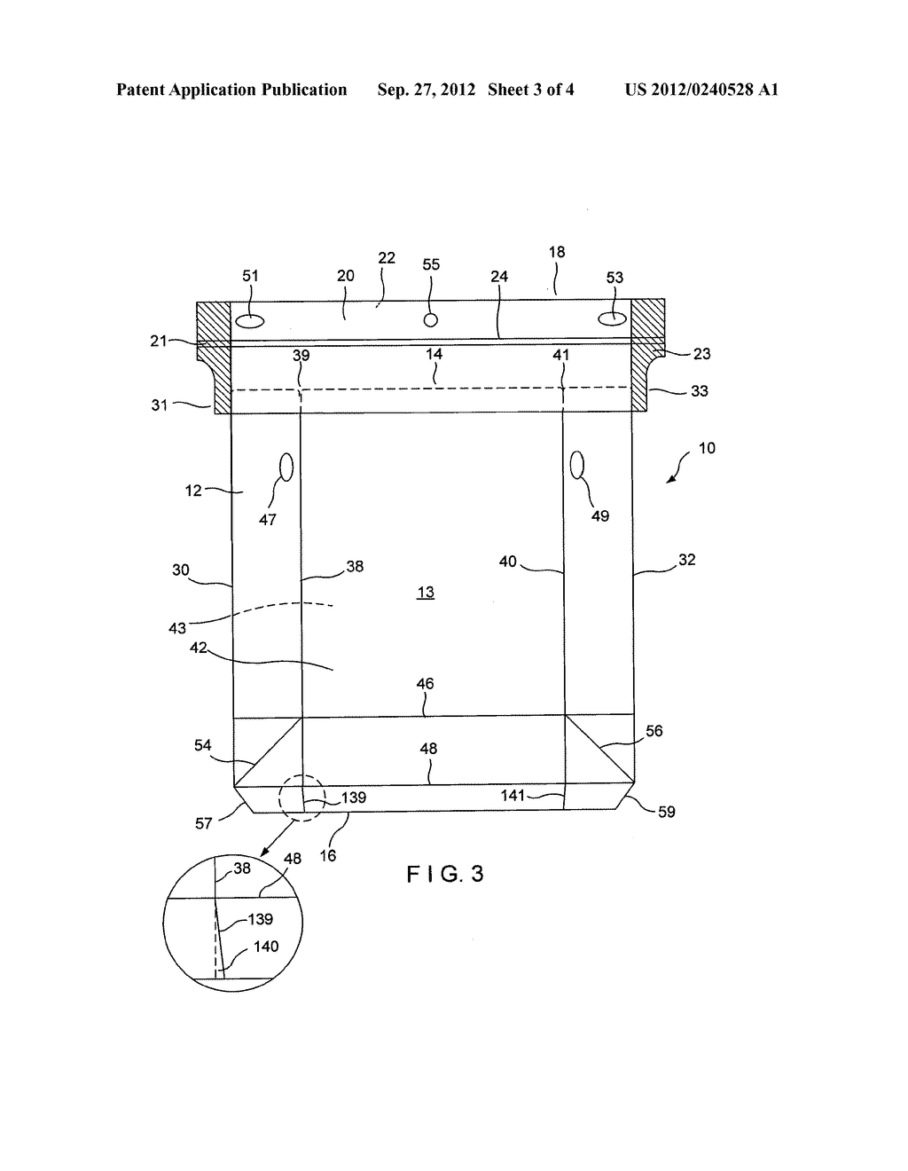 FORMING CONVEYOR FOR A CARTON - diagram, schematic, and image 04