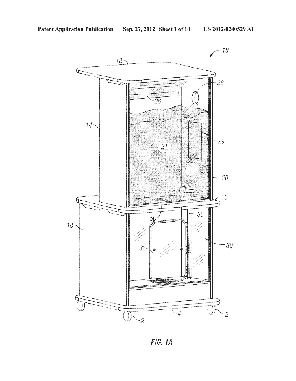 Apparatus and Method of Filling Down-Filled Articles - diagram, schematic, and image 02