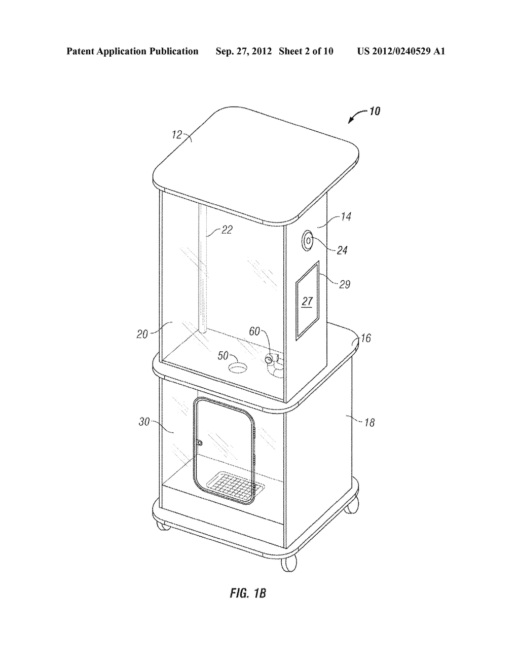 Apparatus and Method of Filling Down-Filled Articles - diagram, schematic, and image 03