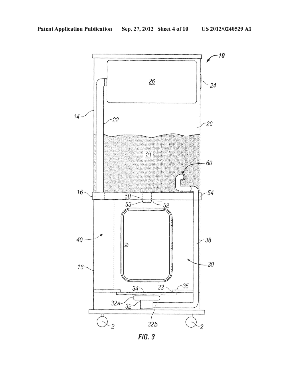 Apparatus and Method of Filling Down-Filled Articles - diagram, schematic, and image 05