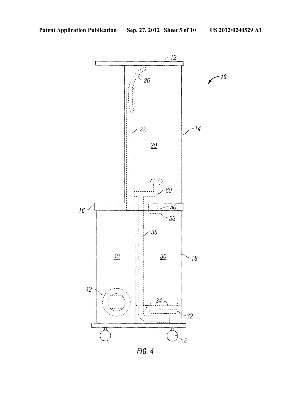 Apparatus and Method of Filling Down-Filled Articles - diagram, schematic, and image 06