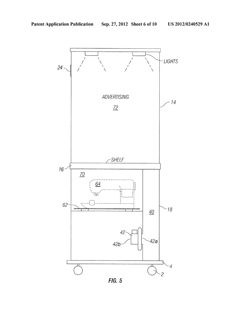 Apparatus and Method of Filling Down-Filled Articles - diagram, schematic, and image 07