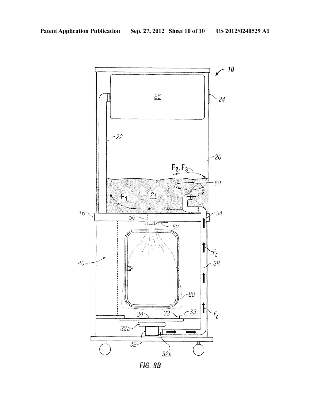 Apparatus and Method of Filling Down-Filled Articles - diagram, schematic, and image 11