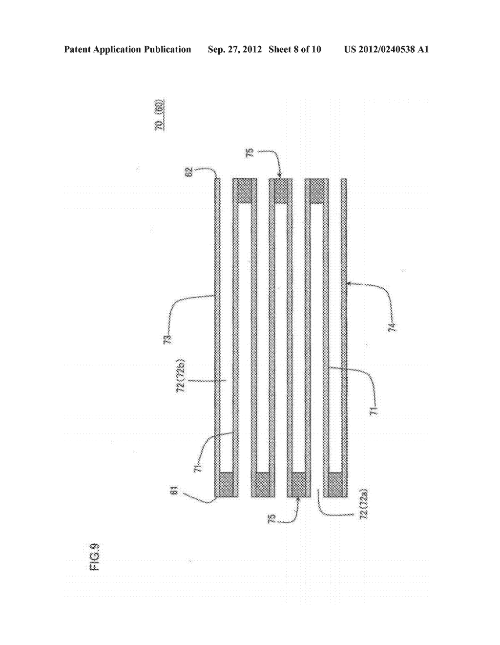 HONEYCOMB FILTER AND MANUFACTURING METHOD OF THE SAME - diagram, schematic, and image 09