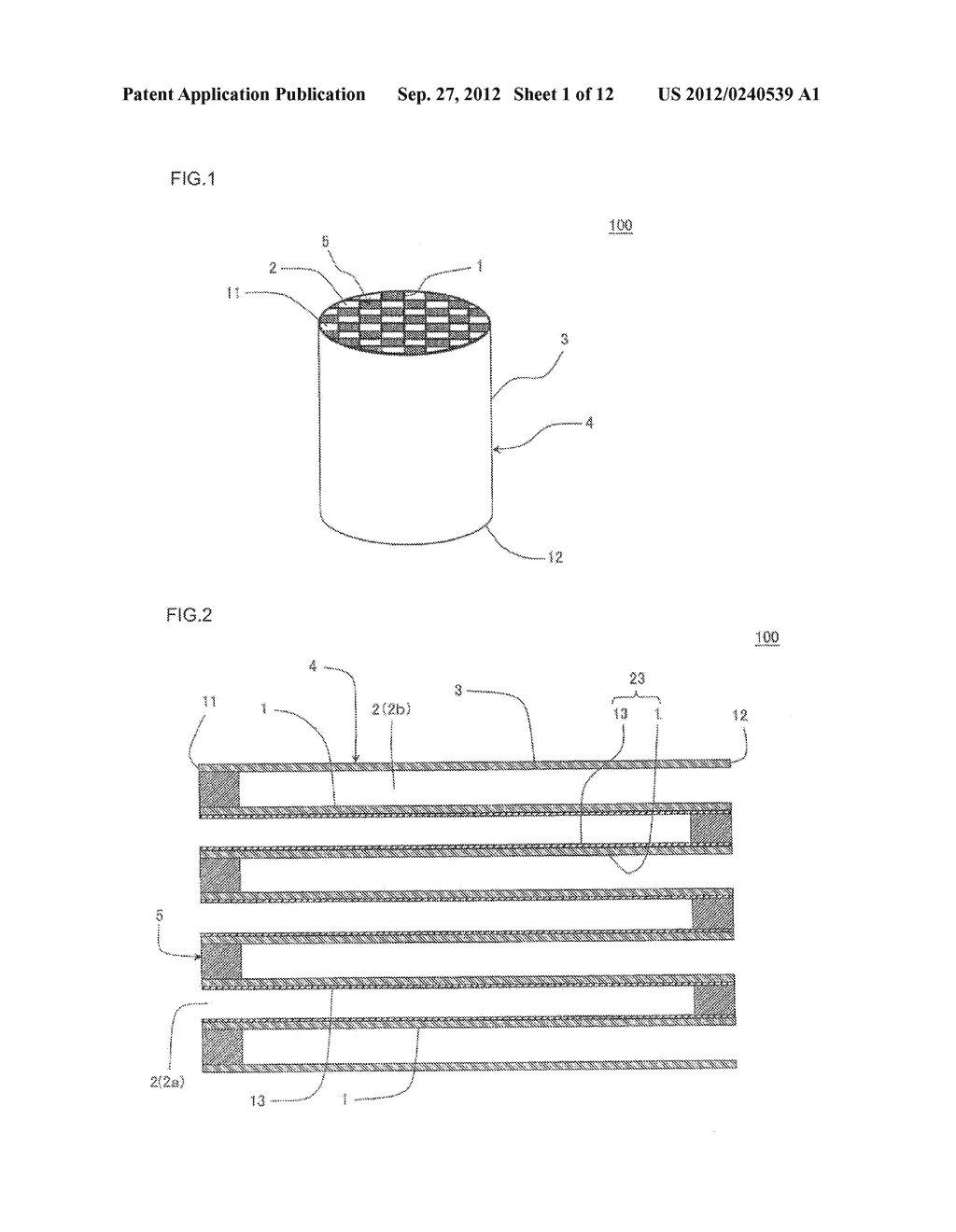 HONEYCOMB FILTER AND MANUFACTURING METHOD OF THE SAME - diagram, schematic, and image 02