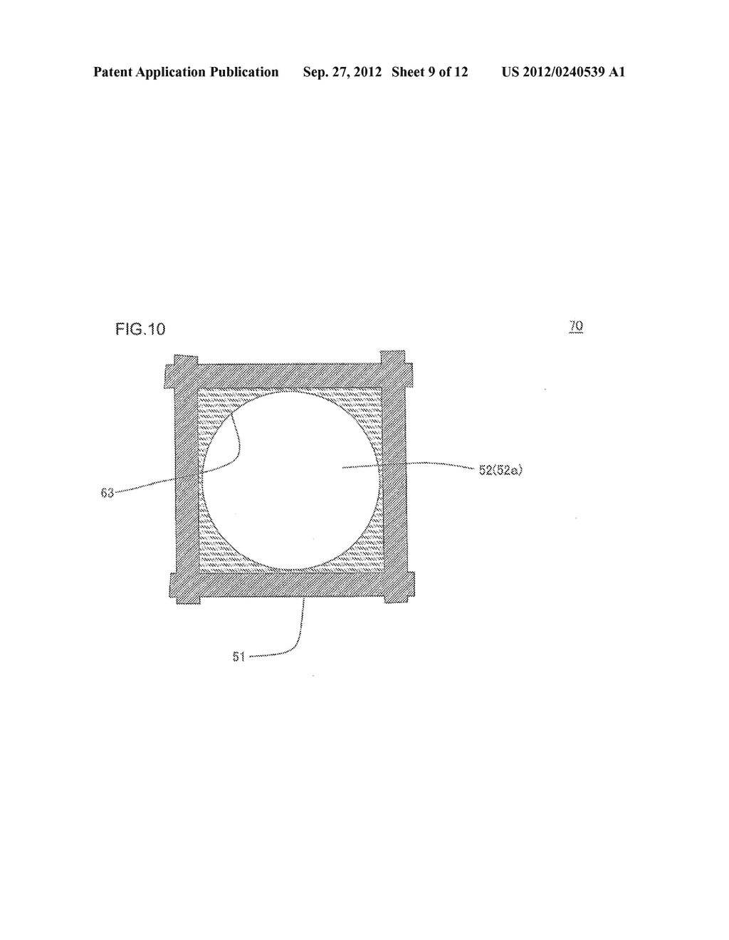 HONEYCOMB FILTER AND MANUFACTURING METHOD OF THE SAME - diagram, schematic, and image 10