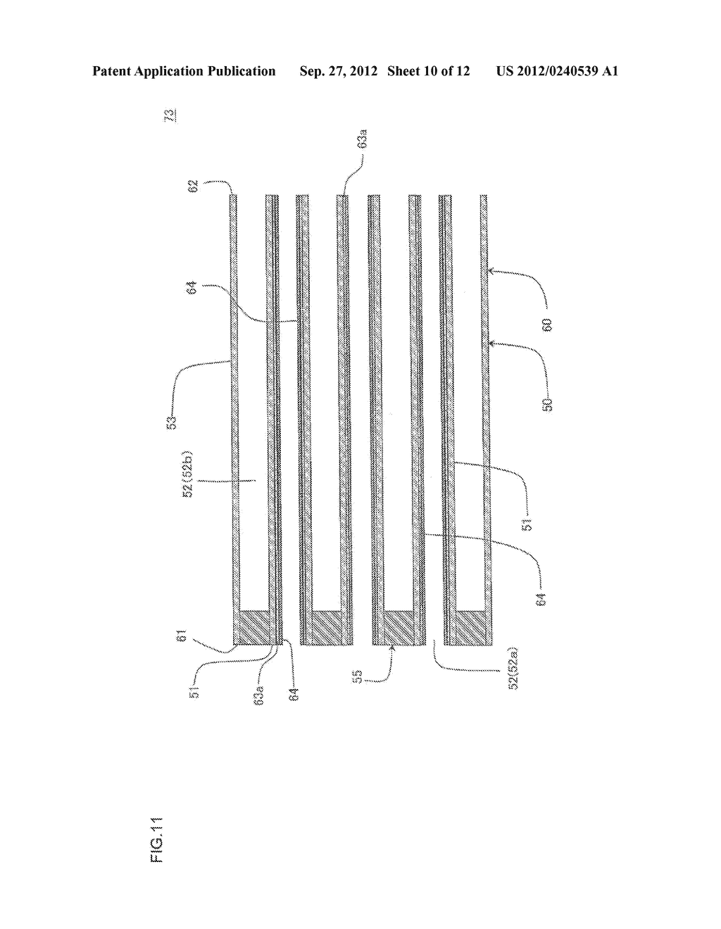 HONEYCOMB FILTER AND MANUFACTURING METHOD OF THE SAME - diagram, schematic, and image 11