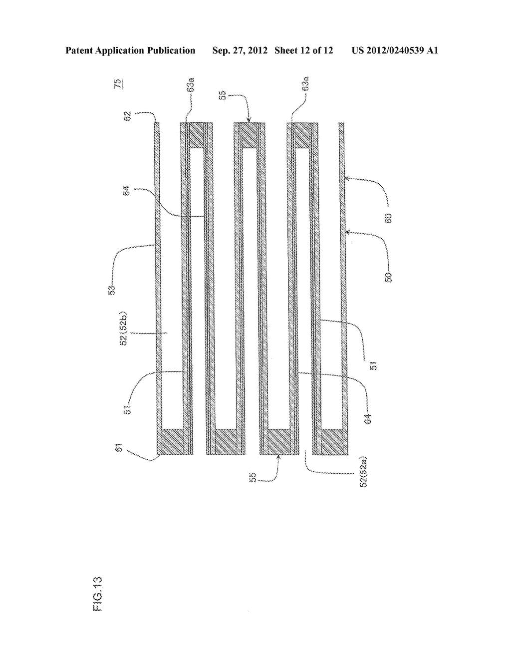 HONEYCOMB FILTER AND MANUFACTURING METHOD OF THE SAME - diagram, schematic, and image 13