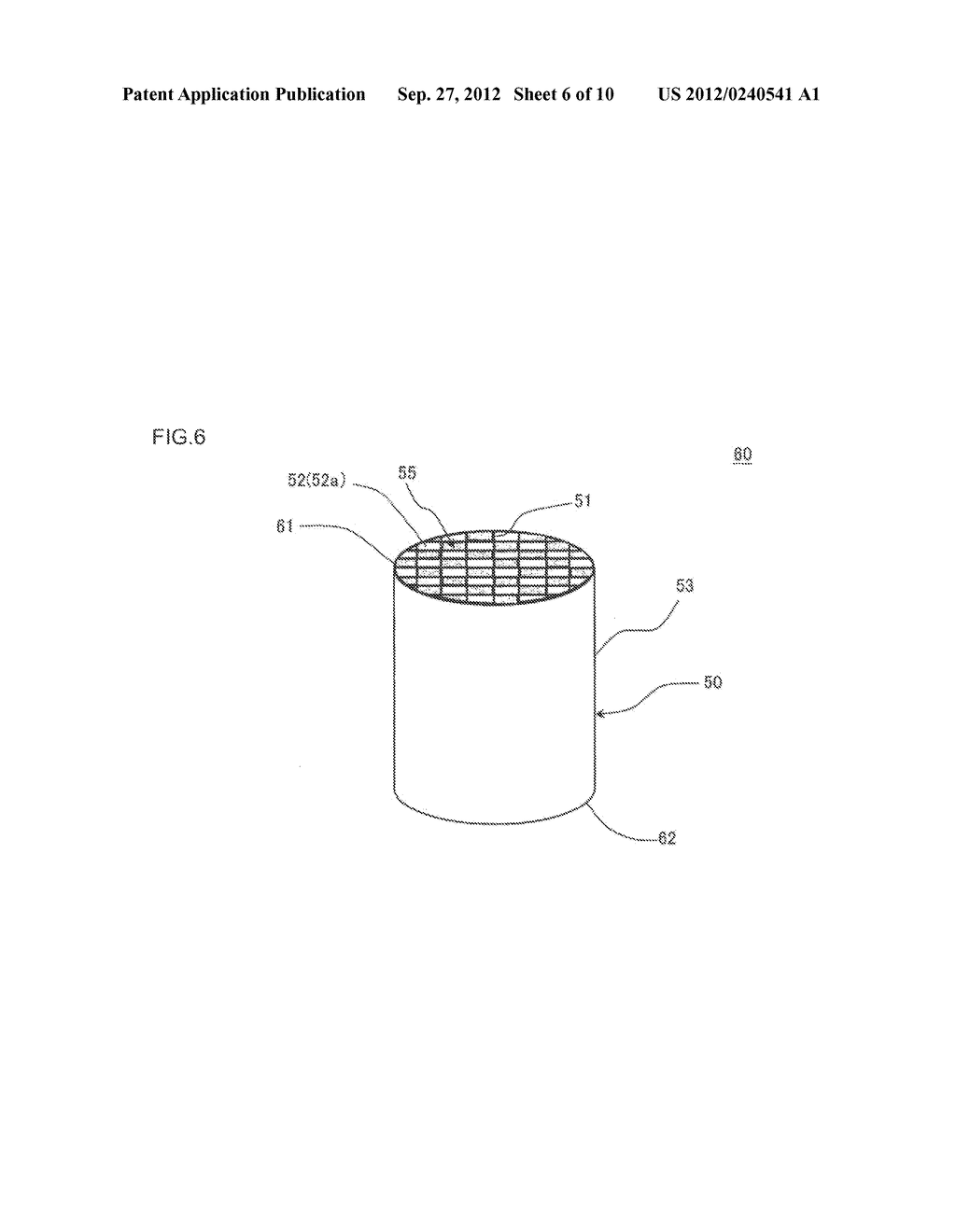HONEYCOMB FILTER AND MANUFACTURING METHOD OF THE SAME - diagram, schematic, and image 07