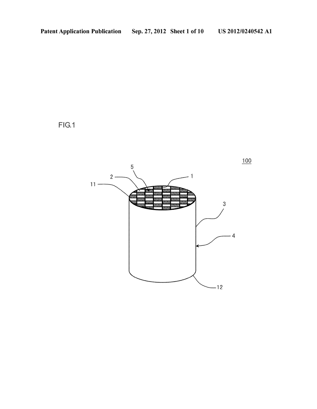 HONEYCOMB STRUCTURE AND MANUFACTURING METHOD OF THE SAME - diagram, schematic, and image 02