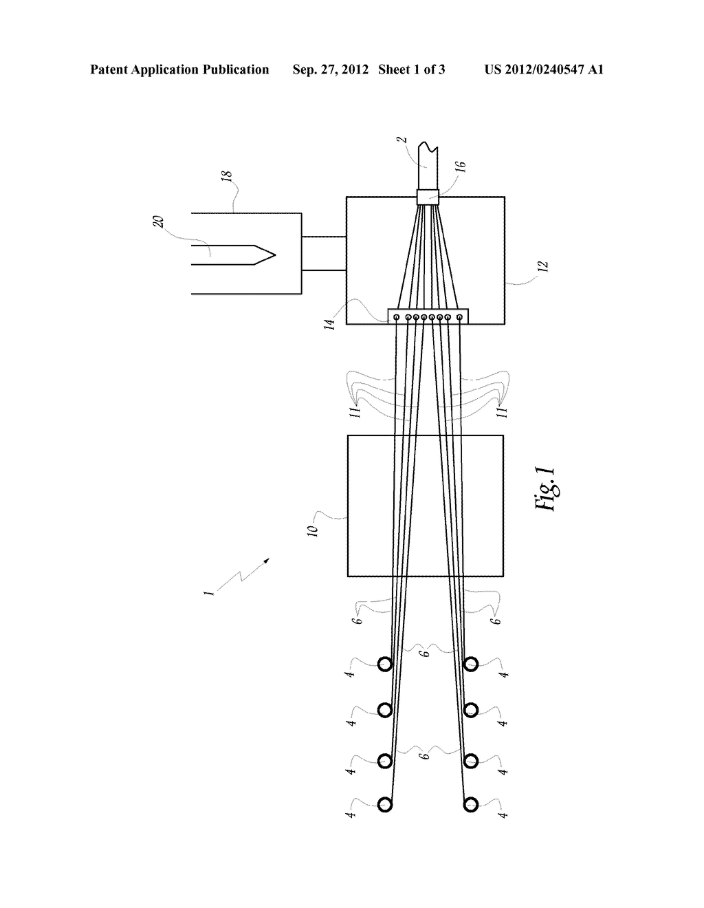 CORE FOR RACKET STRING, RACKET STRING COMPRISING SUCH A CORE AND     CORRESPONDING MANUFACTURING METHOD - diagram, schematic, and image 02
