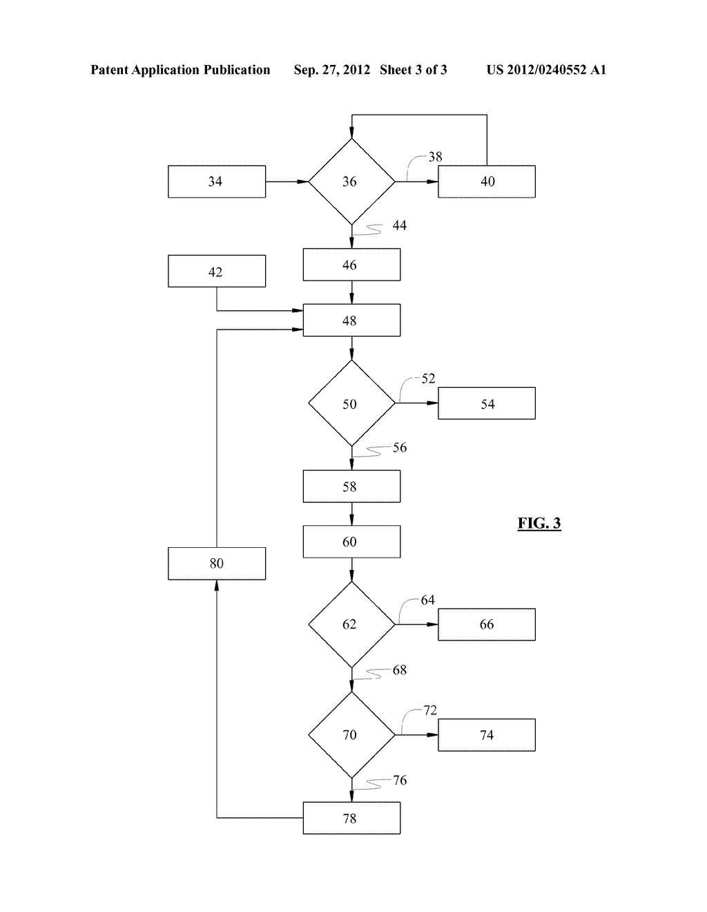 METHOD OF OPERATING AN EXHAUST GAS TREATMENT SYSTEM TO PREVENT QUENCHING     DURING REGENERATION - diagram, schematic, and image 04