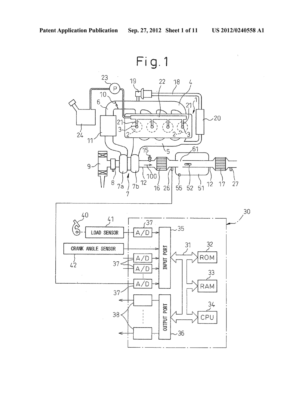 EXHAUST PURIFICATION SYSTEM OF INTERNAL COMBUSTION ENGINE - diagram, schematic, and image 02