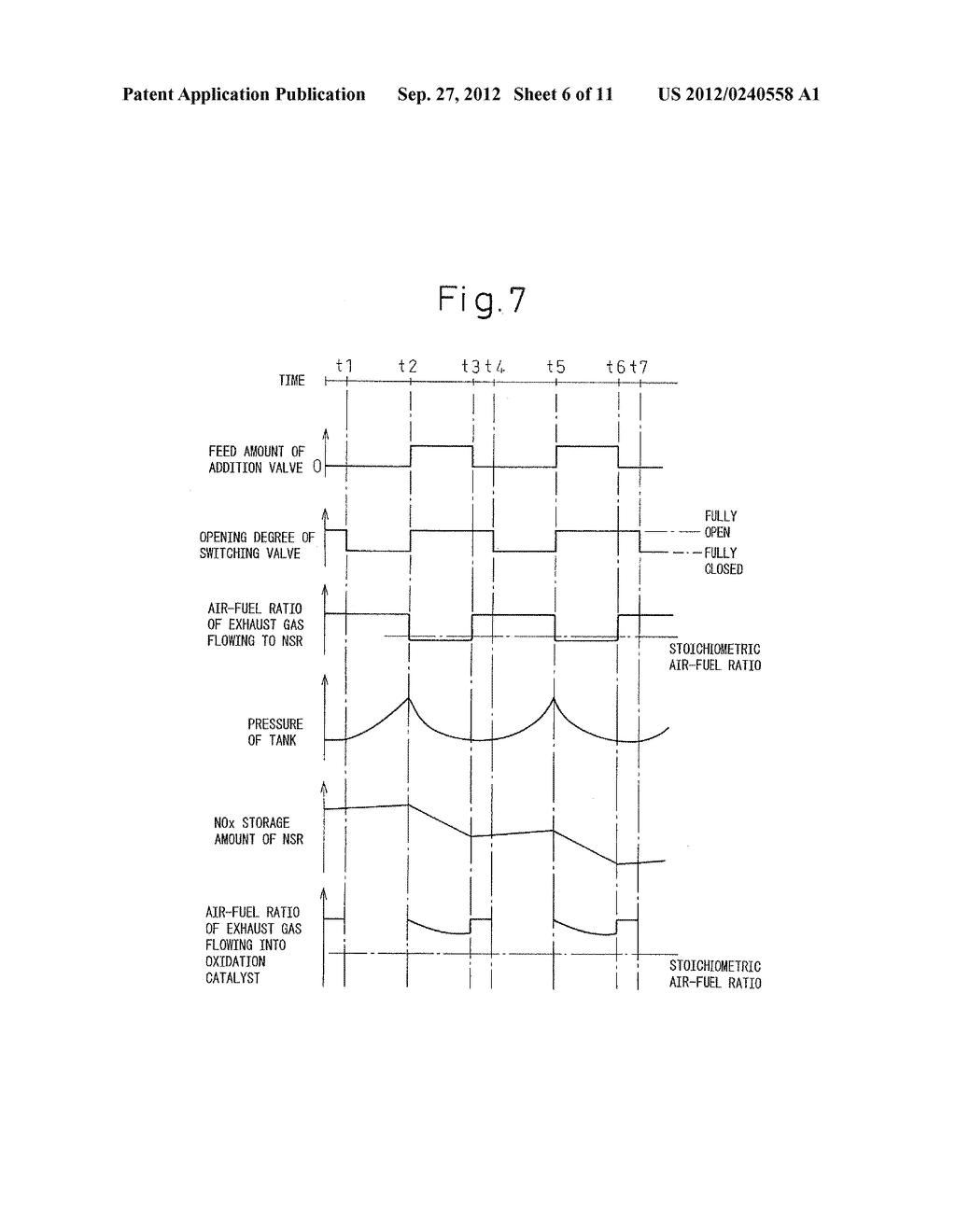 EXHAUST PURIFICATION SYSTEM OF INTERNAL COMBUSTION ENGINE - diagram, schematic, and image 07