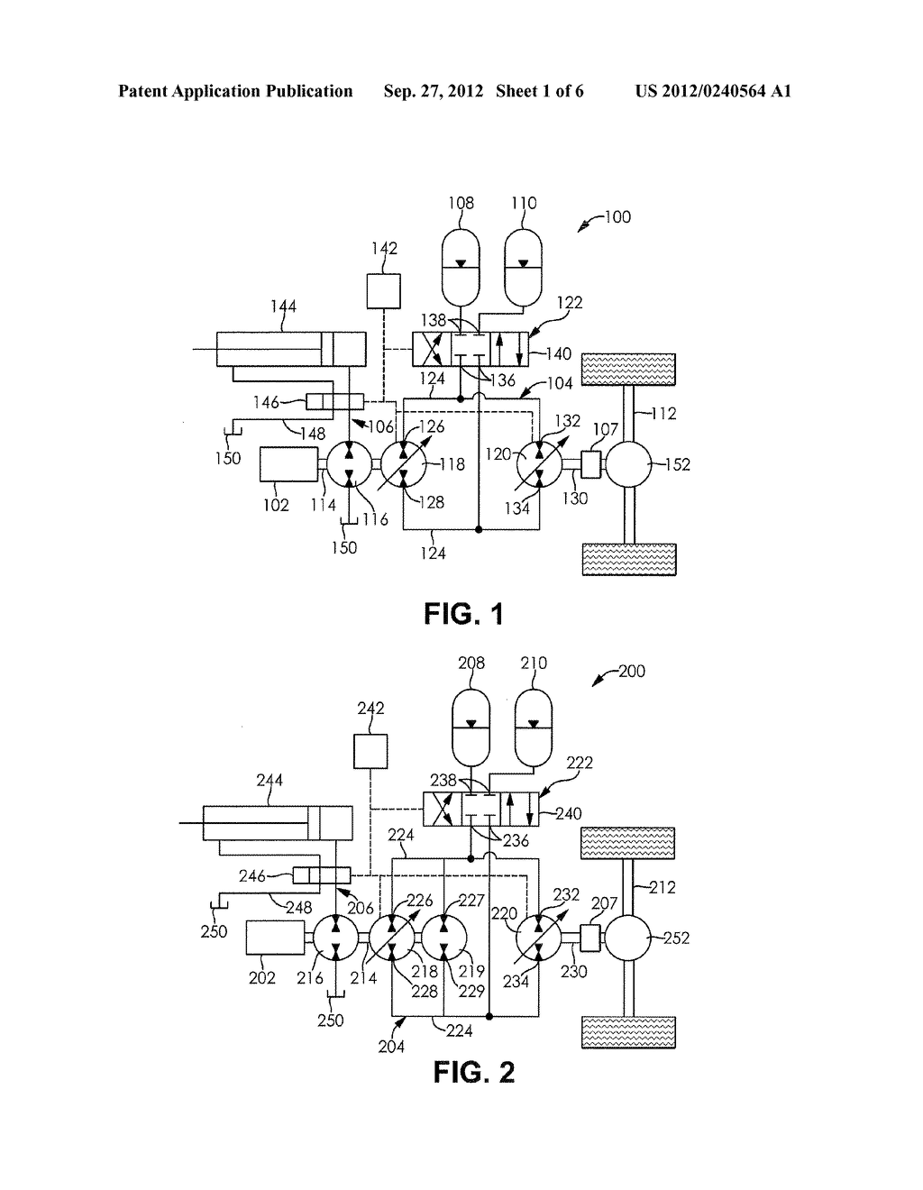 ACCUMULATOR ASSISTED HYDROSTATIC DRIVELINE AND OPTIMIZATION METHOD THEREOF - diagram, schematic, and image 02