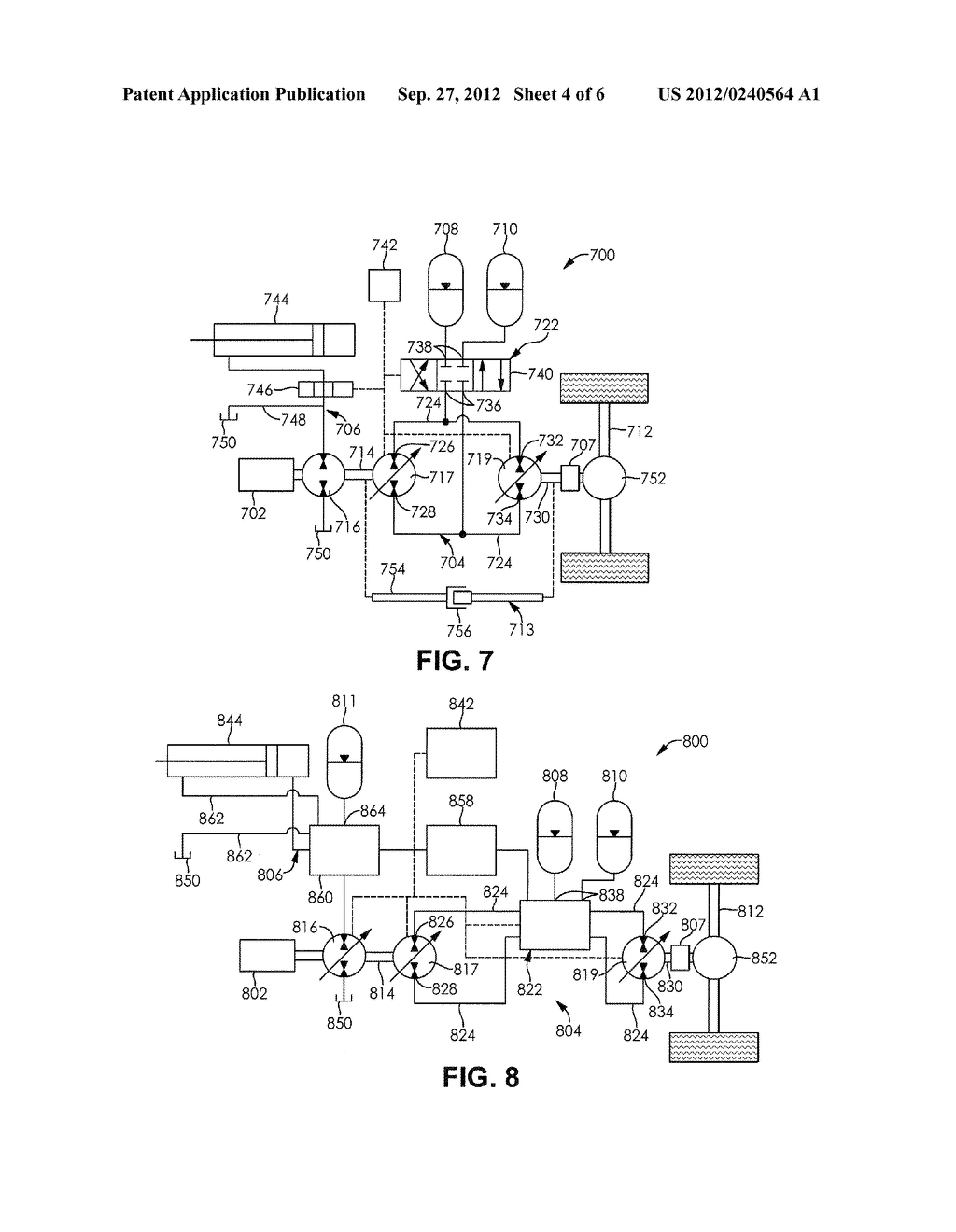 ACCUMULATOR ASSISTED HYDROSTATIC DRIVELINE AND OPTIMIZATION METHOD THEREOF - diagram, schematic, and image 05