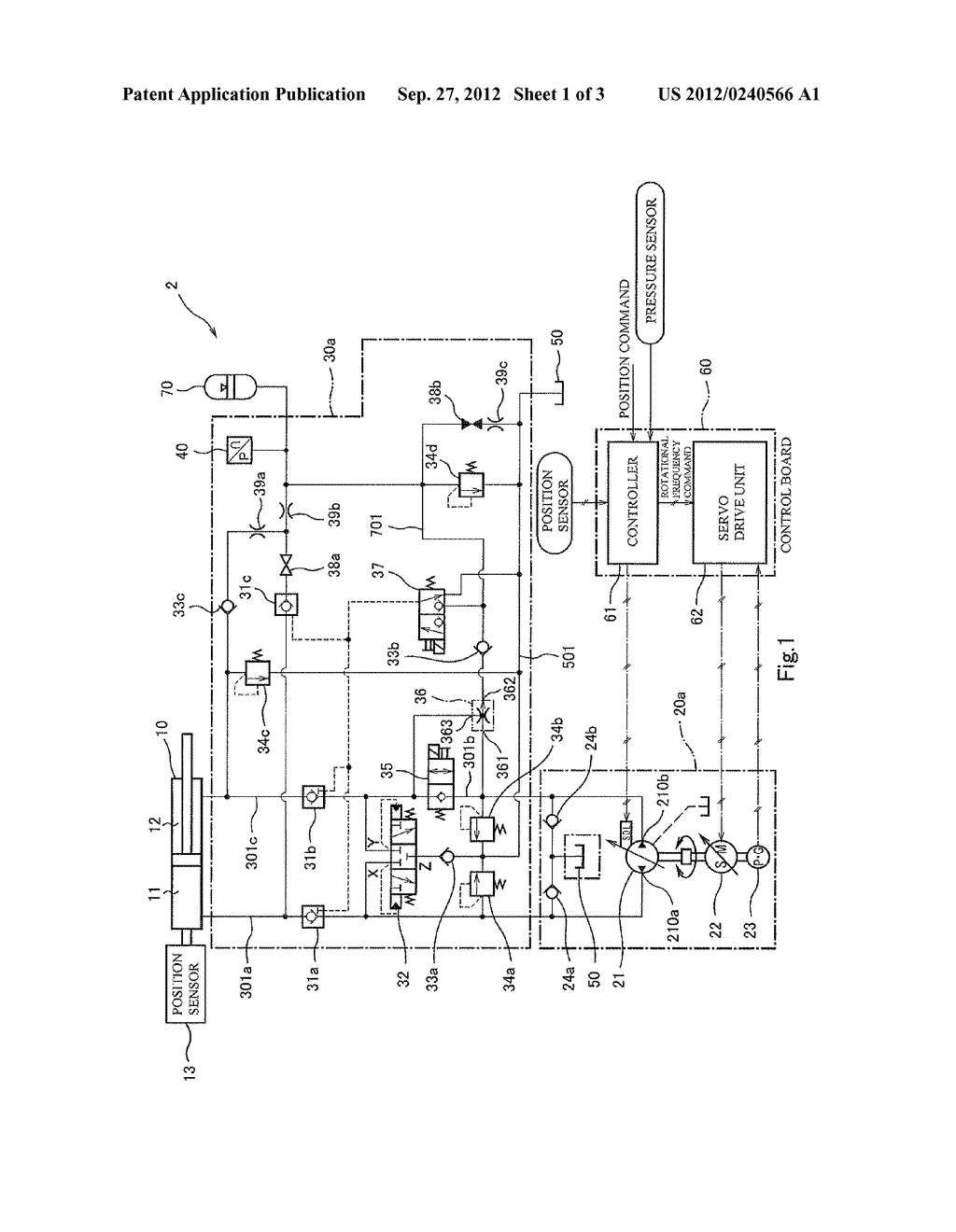 HYDRAULIC CONTROLLER - diagram, schematic, and image 02