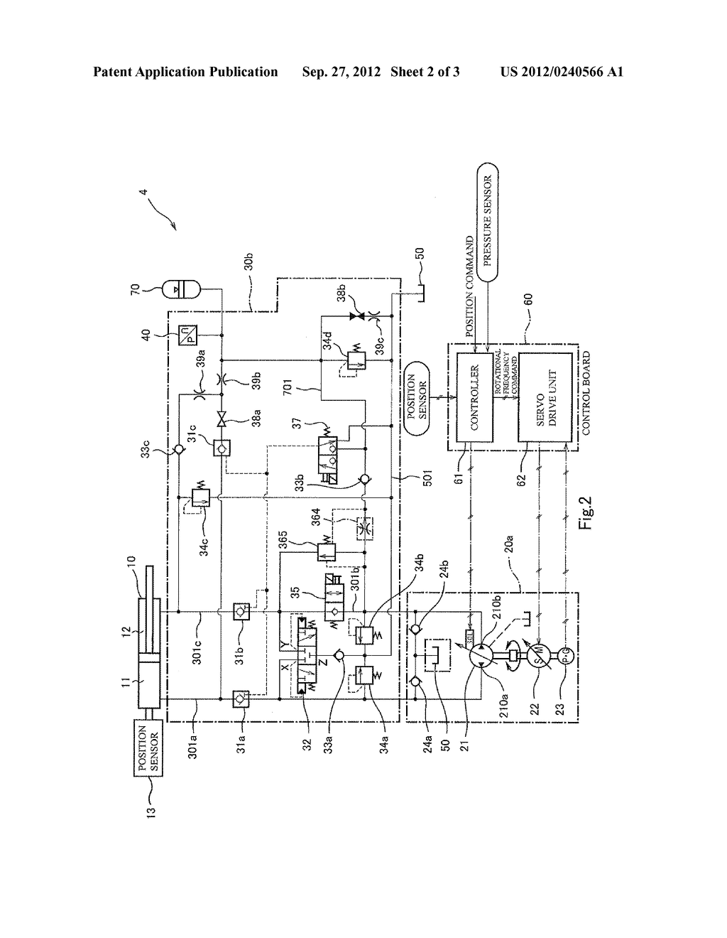 HYDRAULIC CONTROLLER - diagram, schematic, and image 03